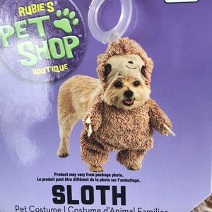 Walking Sloth Dog Halloween pet costume